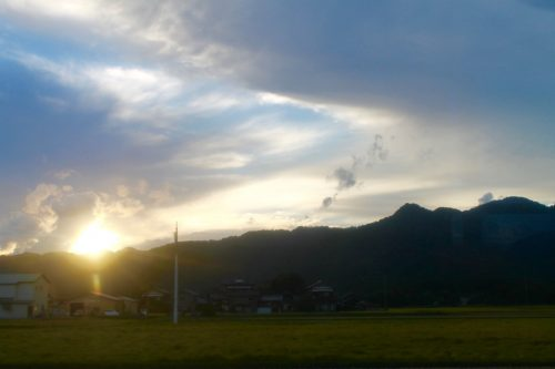 Le village de Takane, près de Murakami, préfecture de Niigata, Japon