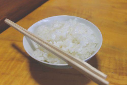 Bol de riz blanc de Murakami, préfecture de Niigata, Japon