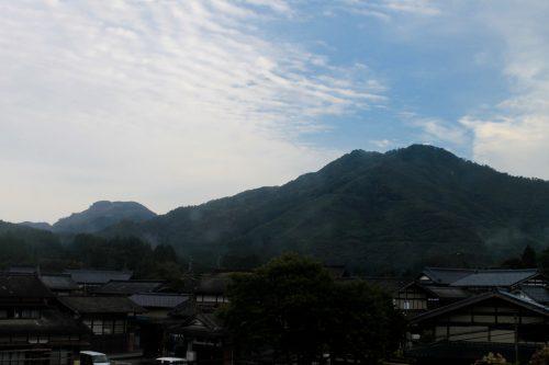 Petit matin sur les hauteurs de Murakami, préfecture de Niigata, Japon