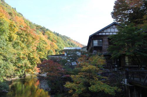 Paysage naturel autour d'Osawa Onsen, Hanamaki, préfecture d'Iwate