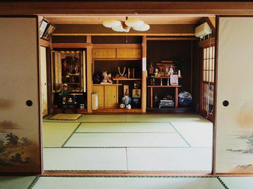 Maison traditionnelle à Usuki, Oita, Kyushu, Japon