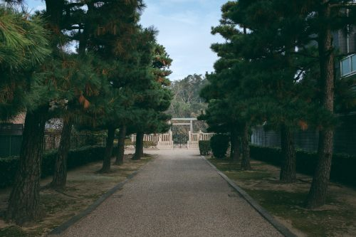 Le kofun de l'empereur Richu, à Sakai, Osaka, Kinki, Japon