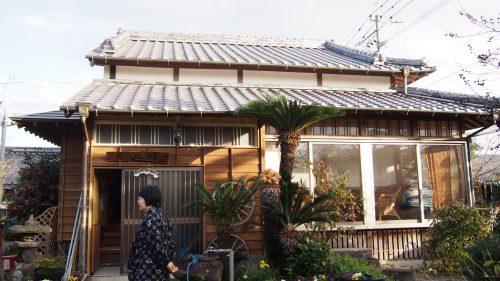 La maison traditionnelle de M et Mme Ohira, Izumi, Kagoshima, Kyushu, Japon