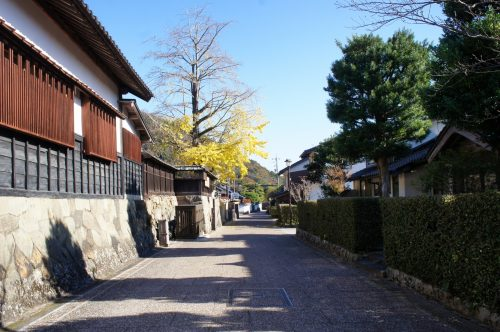 Aux alentours du grand sanctuaire d'Izumo, région du San'in, préfecture de Shimane, Japon