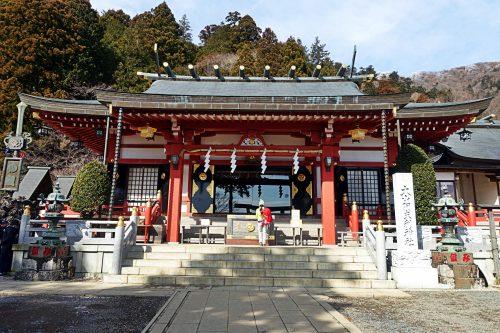 Sanctuaire Oyama-Afuri-Shimosa sur le Mt Oyama, préfecture de Kanagawa, Japon