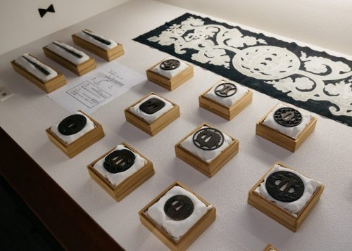 Collection d'objets historiques dans la demeure de la famille Ishiguro à Kakunodate, Senboku, Akita, Japon