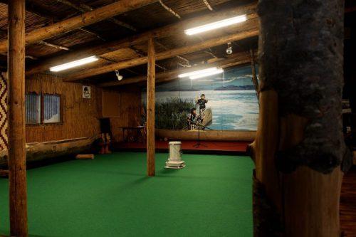Espace d'animation du Kawamura Kaneto Ainu Memorial Museum d'Asahikawa, Hokkaido, Japon