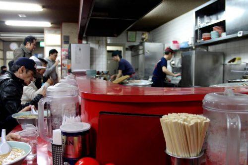 Asahikawa, Hokkaido : le restaurant de ramen Baikouken