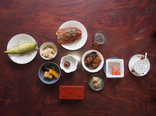 Petit déjeuner traditionnel japonais au Shimizu Marine Inn