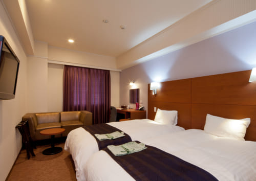 Chambre de l'Hotel Grateful Takachiho à Takachiho, Miyazaki, Kyushu
