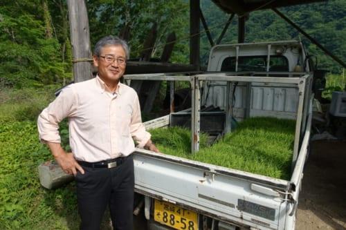 Le propriétaire du Minshuku Maroudo, à Takachiho, Miyazaki, Kyushu