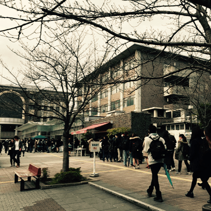 culture in Japan is quite different, but young studenst are eager to learn