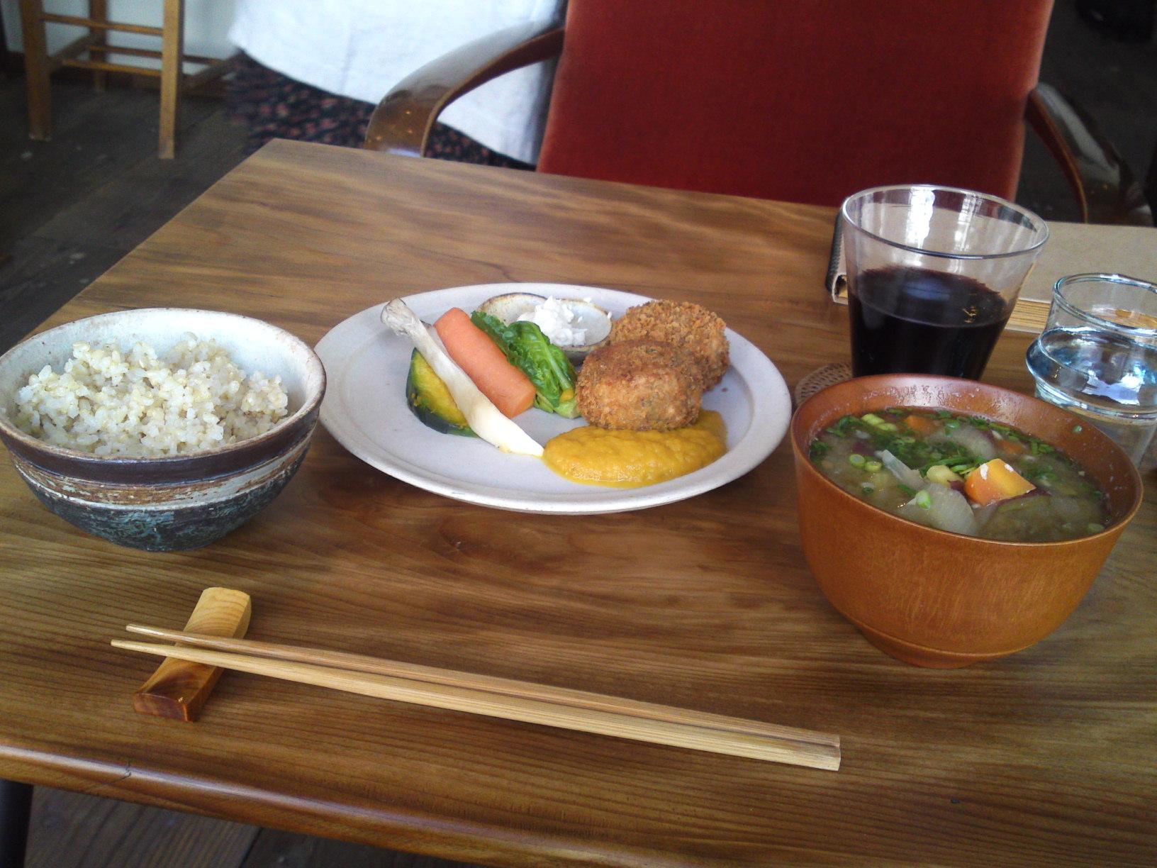 Organic Vegan cuisine at Panchavati in Shizuoka, Japan