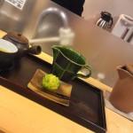 Green Tea & Wagashi Cake from Kissa Issa Tea Café, Shizuoka