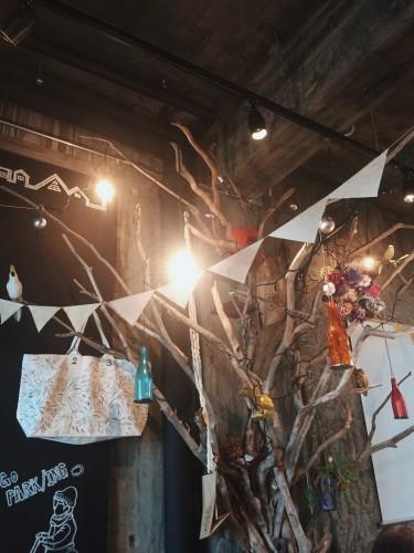 Cozy atmosphere in Cafe Shizuoka