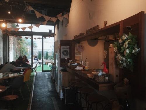 At Shizuoka cafe, it's interior photo