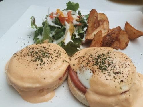 Food menu at Shizuoka cafe