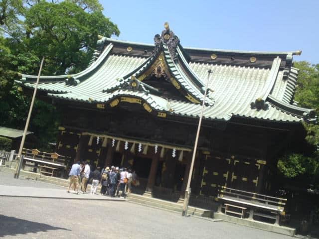 here is mishima taisha shrine