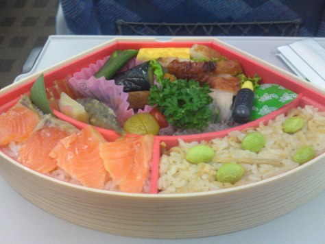 Ekiben is the abbreviation of Eki (station) and Bento (packed lunch), Mount fuji Shaped