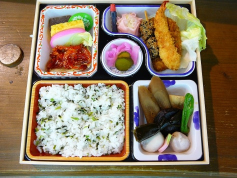 Ekiben is the abbreviation of Eki (station) and Bento (packed lunch), Shimada