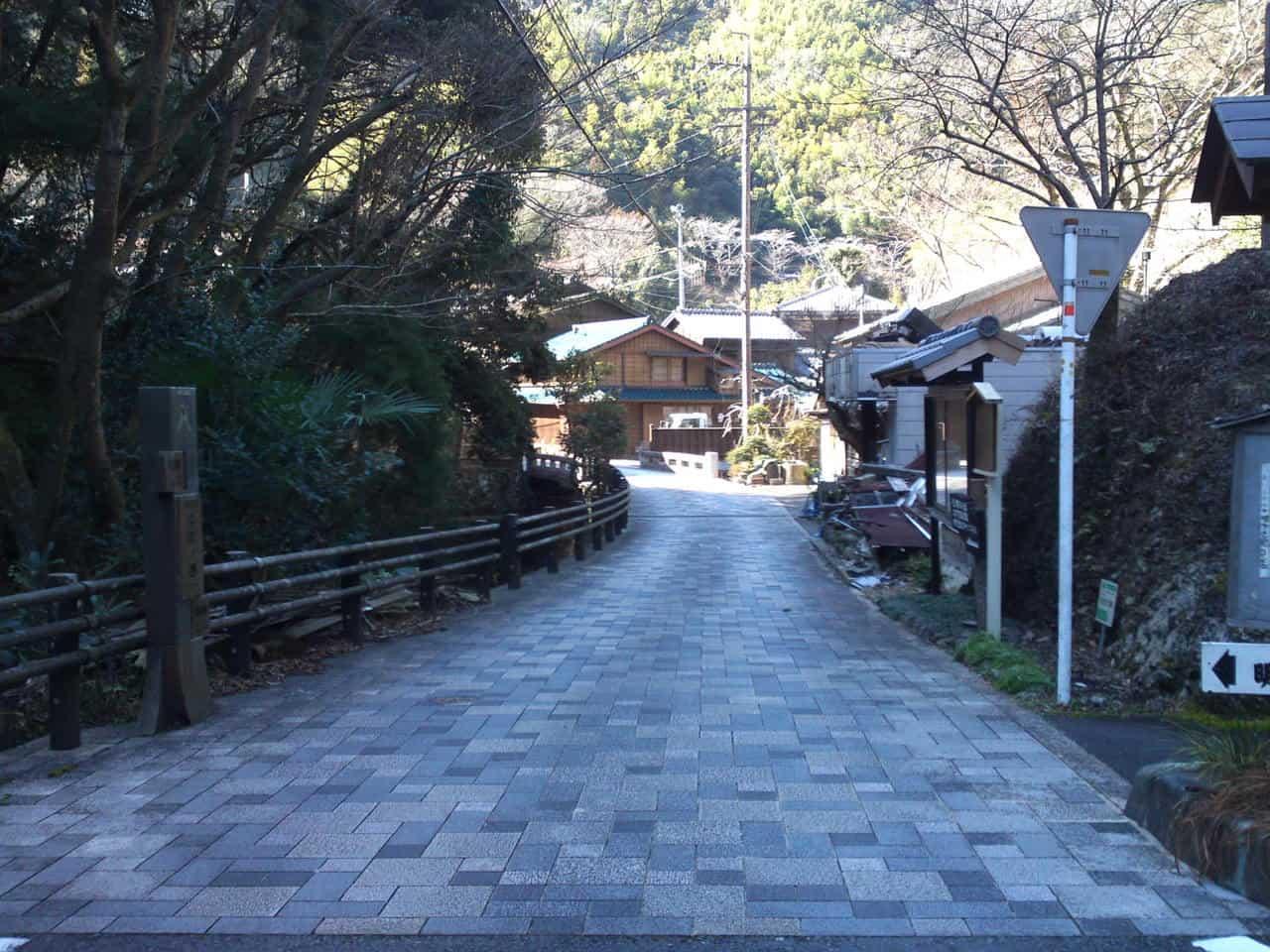 Along the old Tokaido road: Utsunoya