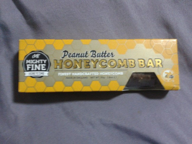 Western sweets, Peanut Butter Honeycomb Bar