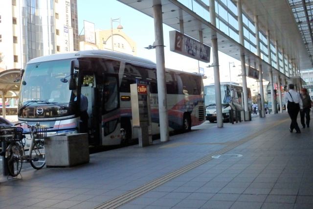 Taking night or day buses is one of the cheapest way to travel between long distances