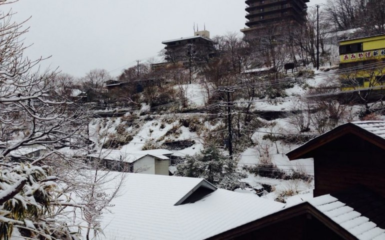 snow, onsen, ryokan, minshuku, hotel, accomodation,