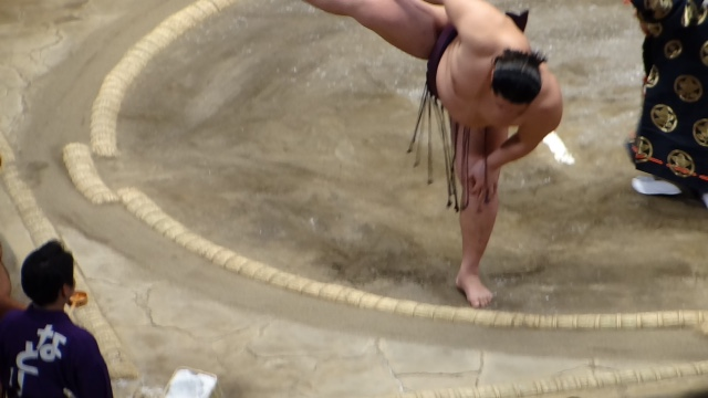 Sumo is a famous sport in Japanese tradition.