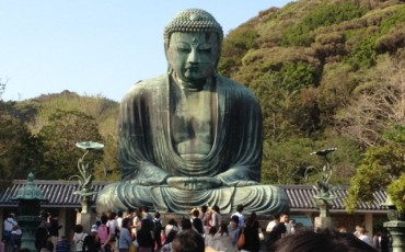Kamakura,Tradition,Buddha,Statue,Seaside,Temple
