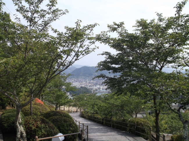 outdoors of Onomichi Hiroshima Japan