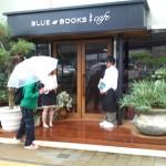 Blue Books Café, enjoyable atmoshpere with delicious food in Shizuoka
