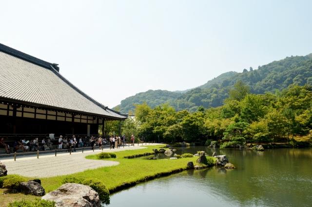 Ryoanji Temple in Kyoto, beautiful landscape and garden