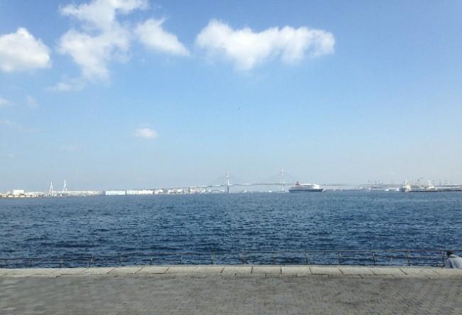 Minato port view from park, Yokohama port