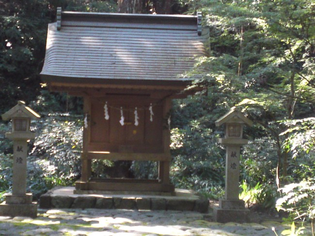 One can discover smaller shrines from place to place