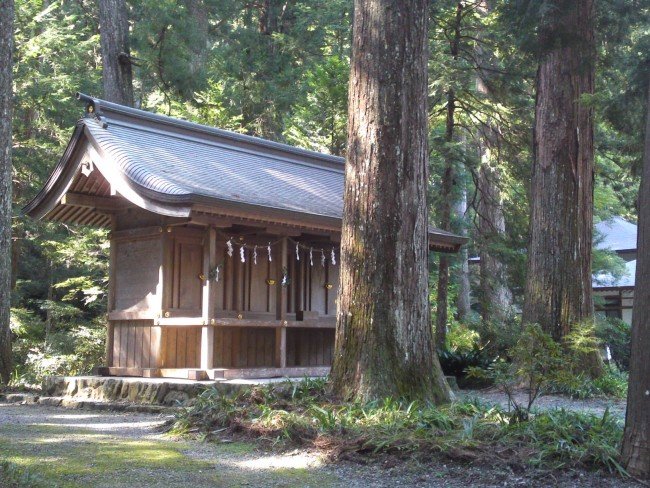 We can find next other smaller shrine on the way to the main shrine