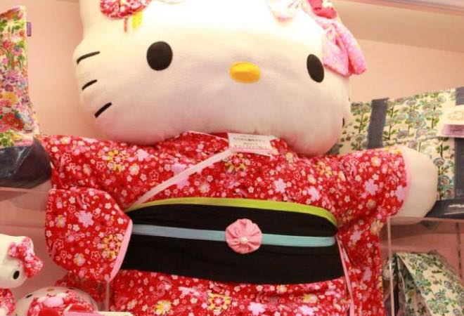 Japan, plush toy, Hello Kitty