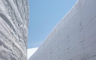 Snow, Alpine, Dam, Route, Wall