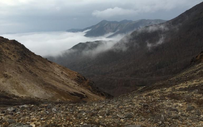 Mountain,Volcano,Hiking,Climbing,Summit,Hot springs, Mount Nasu