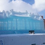 Snow and Ice as far as your eyes can see at Sapporo Snow Festival