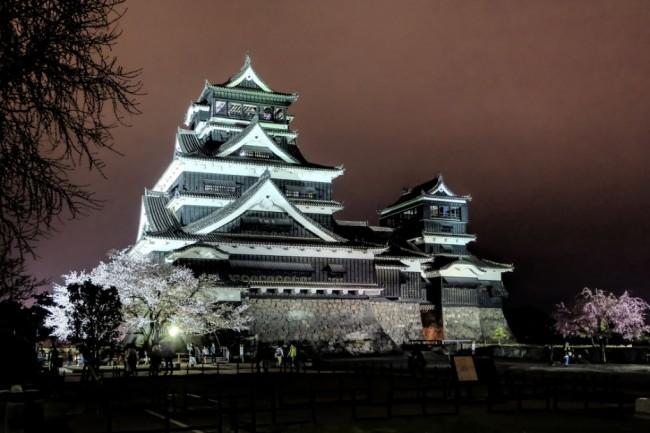 Kumamoto Castle, rich in history