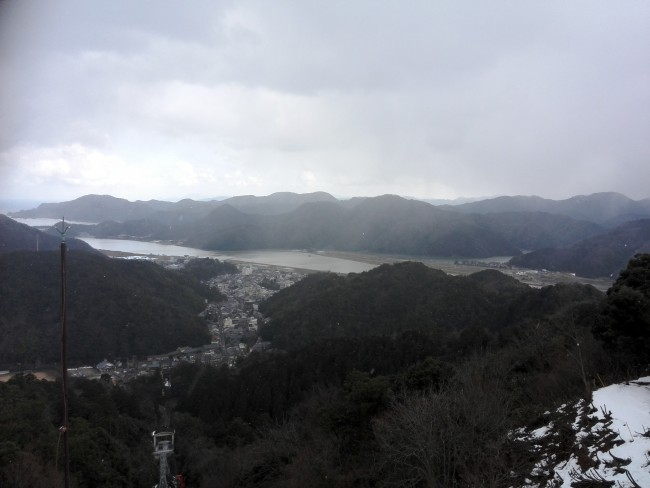 view near Onsen-ji Temple