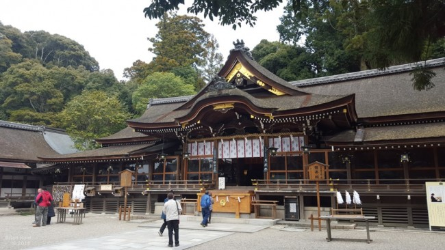 Omiwa shrine in Nara