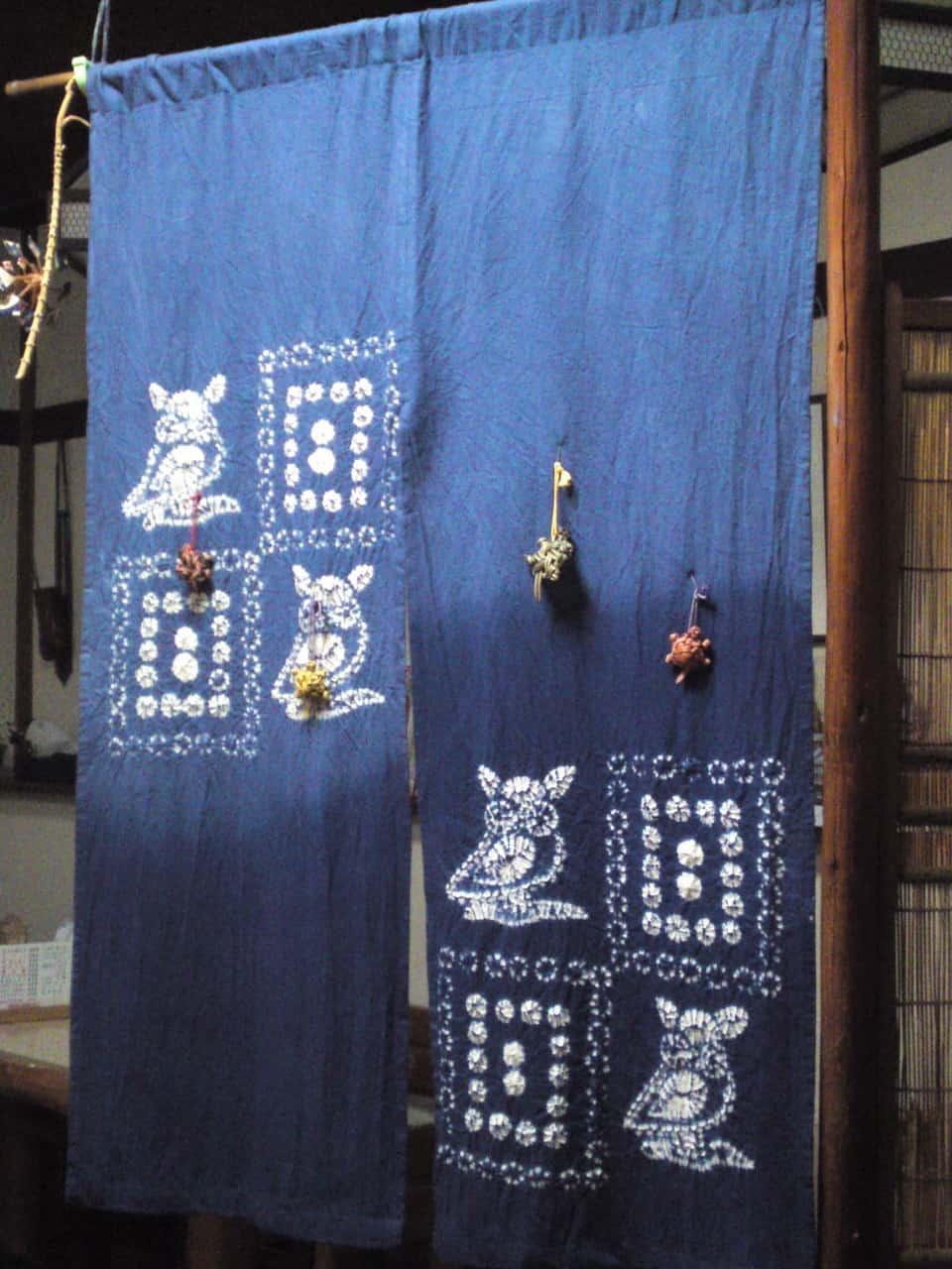 Art,shop,souvenir,curtain,noren,pattern,traditional,izakaya