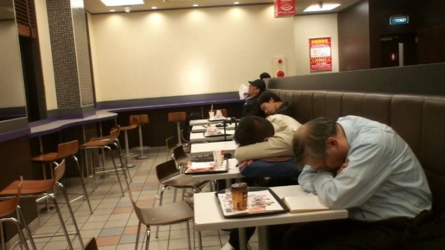 you can even sleep in mcdonalds as accommodation in Japan if you are feeling cheap when missing the train