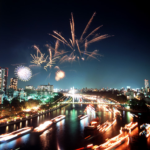 As a final touch, almost every festival in Japan ends with bursts of fireworks