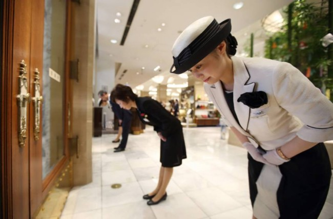 Japanese service and hospitality will make you feel reassured