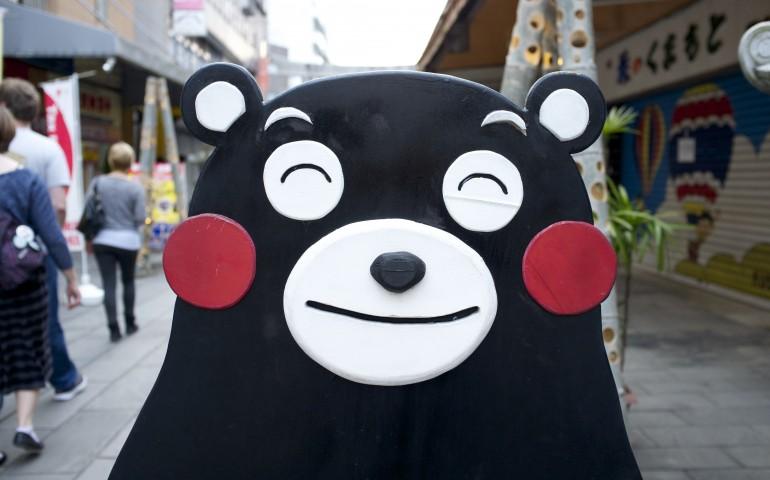 Mascot, kawaii, pop culture, Kumamoto, merchandise, character