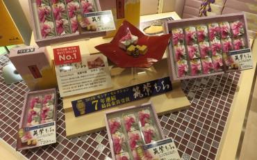 mochi,Japanese,sweets,Fukuoka,Hakata,kinako,kuromitsu,Tsukushi