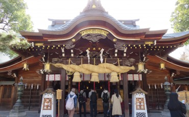 Kushida,shrine,Fukuoka,Shinto,Hakata